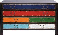 aparador arlequin 6 cajones - Tienda On Line de Muebles Vintage, Retro, mobiliario para restaurantes