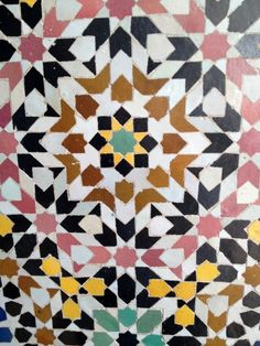 zellij cut ceramic mozaic