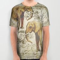 All Over Print Shirt featuring Spirit of Africa by LebensART
