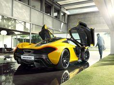 Stunning McLaren P1 photography