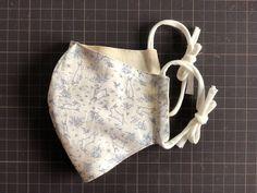 立体マスクの作り方 Diy Mask, Diy Face Mask, Sewing Clothes, Projects, Crochet Flowers, Craft, Ideas, Cool Things, Sewing Patterns