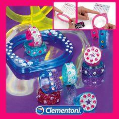 Crazy Chic - Gioielli Fashion. Un kit completo per creare fantastici gioielli e rendere uniche le vostre creazioni per un look davvero trendy.#crazychic #giochicreativi #giochi #toys #glamour #giochibambine #giochi #toys by #clementoni #clementonitoys #giochiclementoni