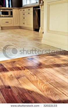 Transitioning From Tile To Wood Flooring Flooring Pinterest - Tile hardwood floor