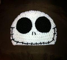 JACK SKELLINGTON Nightmare Before Christmas Crochet Hat Beanie