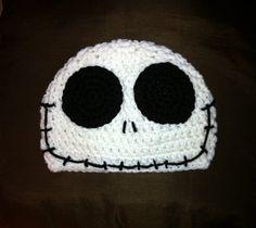 JACK SKELLINGTON Nightmare Before Christmas Crochet Hat Beanie
