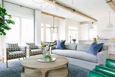 Простые формы и чистые линии в чудесный интерьерах Kate Marker | Пуфик - блог о дизайне интерьера