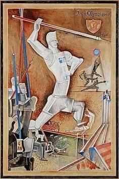 The javelin thrower - Gosta Adrian-Nilsson