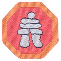 'Aboriginal people in Canada' badge for Brownies in Canada.  #nativepeoples #anthropology #indigeonouspopulation #languages