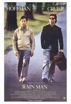 Rain man...amazing! The pairing of these two actors was spot on.