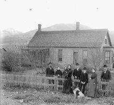 Residence in Salida, Colorado :: Western History