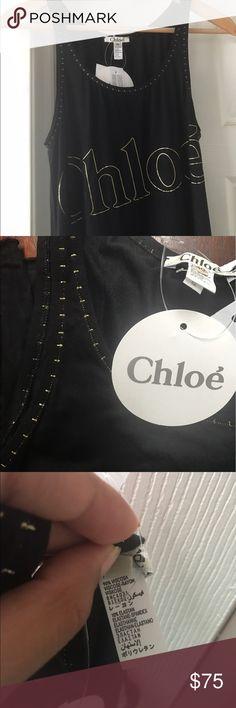 Chloe Dress Nwt Chloe Mare Donna Abitino Cotton Chloe Knee Length Bodycon Tank Dress Sz 40 Chloe Dresses