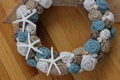 Jute+Yarn+Wreath/Beach+by+LizzyDesigns+on+Etsy,+$55.00