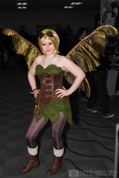 #Steampunk #Fairy #Cosplay from #SteelCityCon #ComicCon ----- Check out more of my photography @ http://www.facebook.com/MidnightSkyPhotography (Link in Profile) ----- #MidnightSkyPhotography #MidSkyPhoto