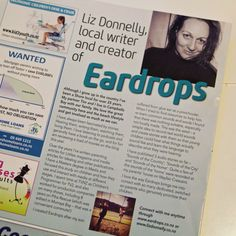 Liz Donnelly, featured local writer.