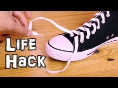 Shoe Lace Life Hack - Ukrainian Knot - YouTube