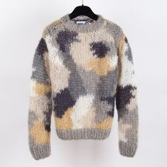 Camou Sweater by Maiami - chic edition http://www.chicedition.com/maiami-camou-sweater-softcolour.html