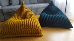 Super knitting for kids bean bags Ideas Herman Miller, Alpaca Wool, Merino Wool, Antique Dining Chairs, Kids Bean Bags, Small Accent Chairs, Chunky Wool, Knitting For Kids, Gray