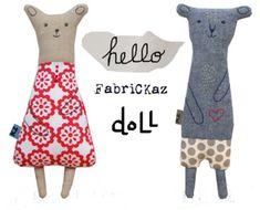 doll | fabrickaz+idees                                                                                                                                                                                 もっと見る