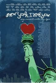 """""""New York I love you"""" movie poster"""