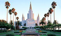 Oakland, California    My Mission Temple Calif Cent Ares  1973  Very  Beautiful in side & around it..