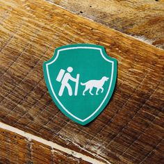 Camping With Dogs Logo Patch