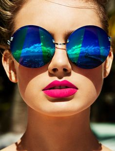#summertime #summer #sunglasses #hairstyle