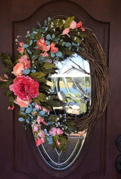 Happy Mother's Day to all mothers! My sister Jackie made this wreath! Visit my blog to check it out!