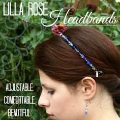 Lilla Rose hairbands are the best!