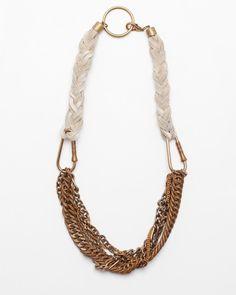 NeedSupply.com / Cold Picnic / Braided Necklace