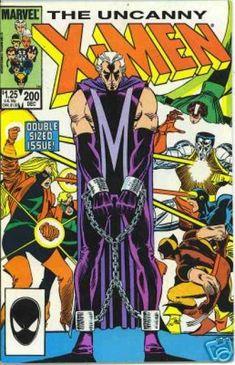 Uncanny X-Men 200 - Wolverine - Cyclops - Magneto - Rogue - Colossus - John Romita
