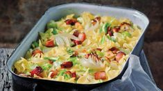 Pasta Recipes, Cooking Recipes, Quiche, Recipe Scrapbook, Scotch Whiskey, Irish Whiskey, Home Brewing Beer, One Pan Meals, Pasta Salad
