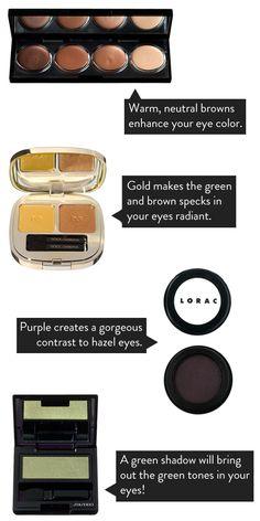 The Best Eye Makeup Shades For Hazel Eyes | lovelyish