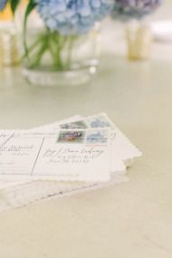 DIY Vintage Postcards, gorgeous for RSVP's or as a short but sweet thank you post wedding, customised with a vintage style image from your wedding day or honeymoon destination.