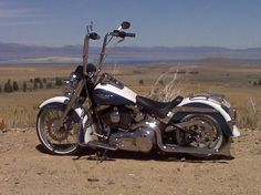 Softail with Ape Hangers 18'   Ape Hanger Porn - Post your pics here! - Page 41 - Harley Davidson ...