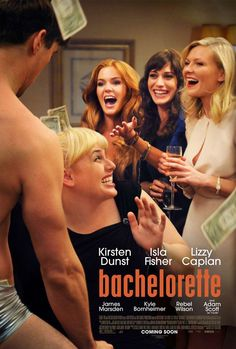 """Bachelorette - Movie. Forget """"Girls"""". This is the most real depiction of girl relationships and how screwy but deep they can be (minus the cocaine. i never did that nor would i ever but it bizarrely works in this movie to illustrate the dynamic)"""