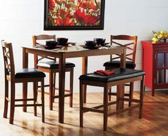 5-Piece Bench Pub Set from Big Lots