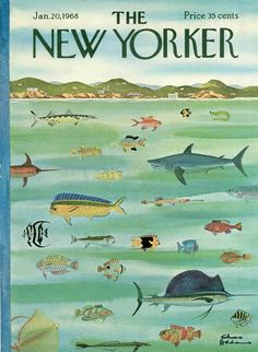 Charles Addams : Cover art for The New Yorker 2240 - 20 January 1968 The New Yorker, New Yorker Covers, Vintage Illustration Art, Graphic Design Illustration, Charles Addams, Magazine Art, Magazine Covers, Design Magazine, Vintage Magazines