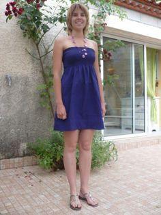 Vous vous souvenez cette petite robe tout simple que j'ai cousue pour Fille n°2 ...  Vous avez été plusieurs à me demander quelques...