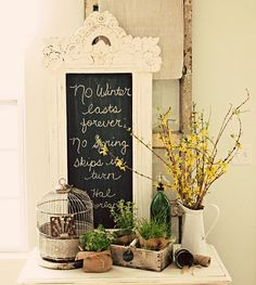 Hmmmm... I have a broken mirror in a frame just like this. This might be the thing to do with it!