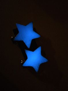 Star Barrettes. These lovely little star barrettes are handcrafted using lost wax casting and ecopoxy, a plant based resin. A beautiful addition to any festival hair style or night out on the dance floor.