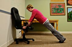 5 chair exercises you can do in the office: Working 9 to 5 doesn't have to mean sacrificing fitness. Here are exercises you can do throughout the day to boost your physical and mental health.