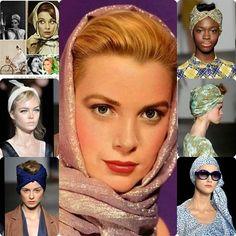 Los pañuelos en la cabeza se llevarán muchísimo, y de mil maneras diferentes.