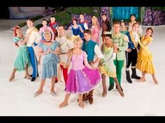 ▶ DISNEY ON ICE -CINDERELLA/ TAGLED / beauty and the beast/ princess and the frog AND MORE... - YouTube
