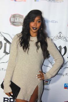 Apryl Jones at the 7th Annual Hill Harper & Nate Parker Toy Drive in Hollywood,