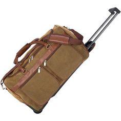 8b2c24f6c2 Embassy LUTRPV21 Travel Gear 21 Inch Faux Leather Trolley Tote Bag Full  Lining