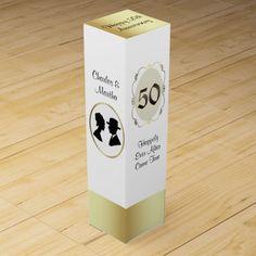 50th Anniversary Gift Wine Box
