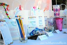 My Favorite Things Party | Made By a Princess Parties in Style