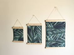 Artwork Print hanger, available in black, gold, white and plain pine and in various sizes - 14.8 / White