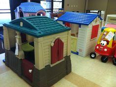 2014 Fall KID MANIA Hall 4 - Playhouses.  www.KidManiaSale.com