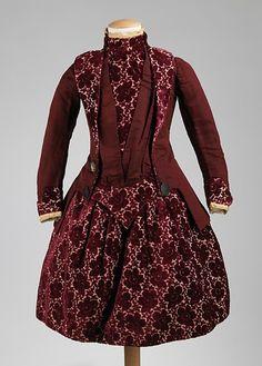 Girl's Dress  1885  The Metropolitan Museum of Art